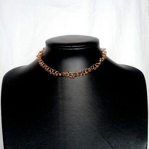 🎈3/$12 Beads Gold Choker Necklace